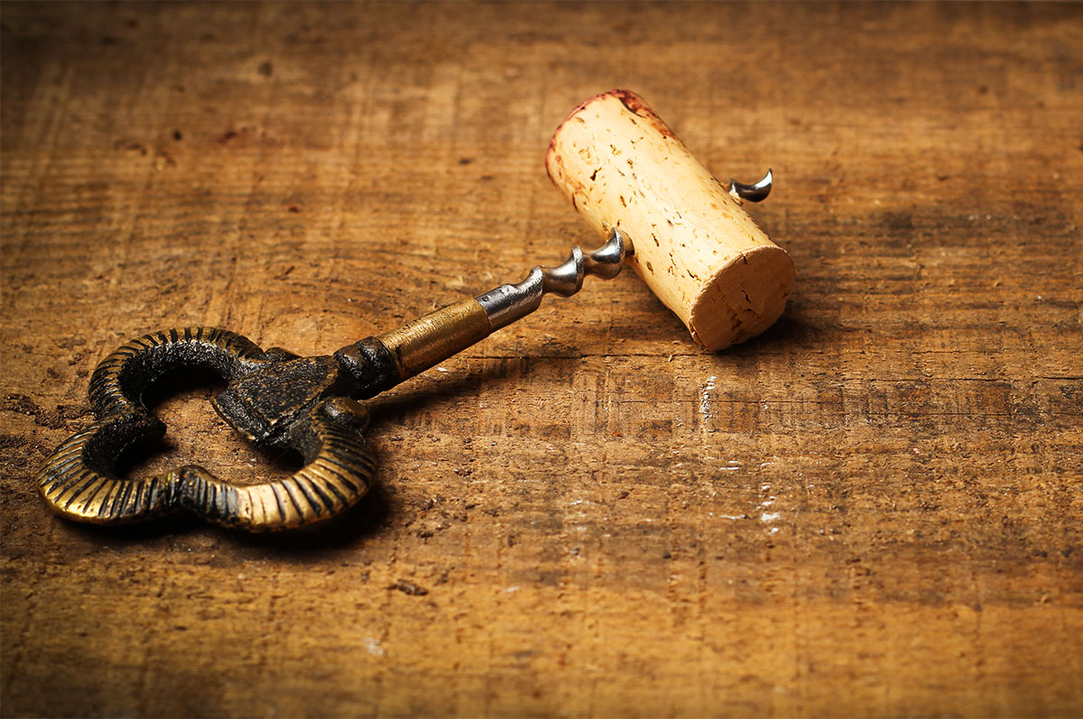 Wine Corkscrew Key